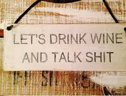 funny rustic sign let u0027s drink wine and talk kitchen decor