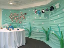 Baby Shower Decorating Ideas by Under The Sea Baby Shower Decoration Ideas Babyshower