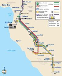california map king city south county monterey salinas transit