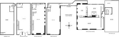 straight floor plan see the layout of tribeca s staple street skybridge apartment