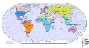 world politic map political map