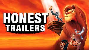 honest trailers lion king feat avbyte