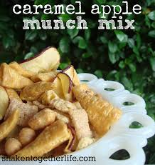 where can i buy candy apple mix caramel apple munch mix apple week
