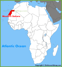 Africa South Of The Sahara Map by Western Sahara Maps Maps Of Western Sahara
