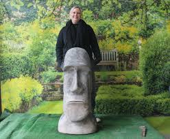 x large easter island statue co uk garden