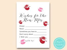 bridal shower wish bridal shower signage the miss goodbye magical printable