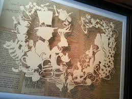 wonderland laser cut by paper panda