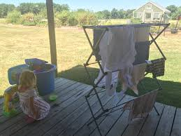 Dryer Doesn T Dry Clothes An Amish Clothesline 5 Reasons To Hang Laundry In The Sun