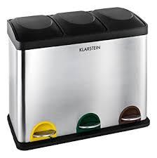 poubelle de cuisine tri selectif klarstein ökosystem poubelle de cuisine écologique pour tri