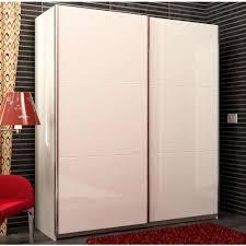 armadio altezza 210 armadio due ante scorrevoli colore bianco e laccato bianco lucido