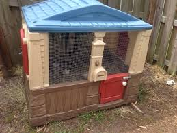Backyard Chicken Houses by Chicken House Coop Made From A Recycled Children U0027s Outdoor Little