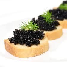 caviar recettes cuisine recette canapés au caviar