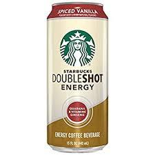 starbucks doubleshot vanilla light amazon com starbucks doubleshot energy drink spiced vanilla 15