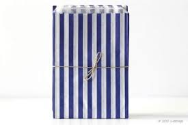 blue gift bags candy stripe navy blue gift bags