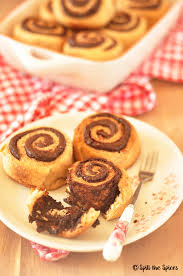 the rolls eggless whole wheat chocolate cinnamon rolls breadbakers spill