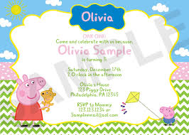 email invitations baby shower peppa pig invitations template