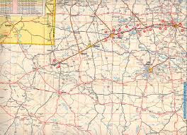 Texas City Map Texasfreeway U003e Statewide U003e Historic Information U003e Old Road Maps