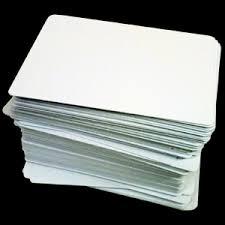 blank cards blank mini card