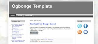 introducing u201cogbonge template u201d free blogger template compatible