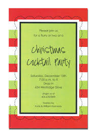 fancy invitation to christmas cocktail party 57 in card