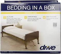 High Quality Cotton Sheets Amazon Com Drive Medical 15030hbc Hospital Bed Bedding In A Box