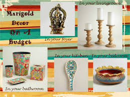 beautiful marigold decor on a budget with world market plus
