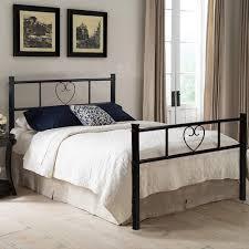 Single Beds For Adults Aingoo Black 3ft Single Metal Bed Frame Heart Shape Lovely Sturdy
