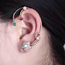 earring cuffs okajewelry show wrap cuff earring comeback as a fashion trend