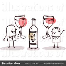 cartoon wine glass cheers cheers clipart 1056130 illustration by nl shop