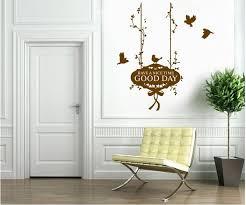 chambre journ bonne journée tags style rural diy amovible stickers muraux chambre
