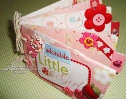 small scrapbook album adorable girl mini scrapbook made with toilet roll