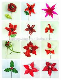 Decorative Christmas Tree Picks by Decorative Glitter Christmas Tree Floral Picks And Sprays Buy