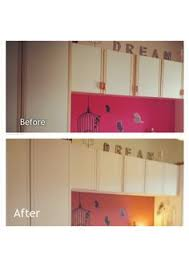 Annie Sloan Paint Kitchen Cabinets Melamine Cupboard And Countertop Makeover Melamine Cabinets