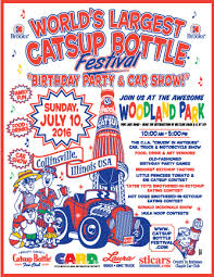 winners collinsville catsup bottle festival birthday party and