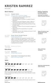 Resume Template For Internship Student Intern Resume Samples Visualcv Resume Samples Database