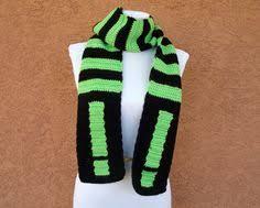 coffin scarf for men or women grey gray black striped scarf