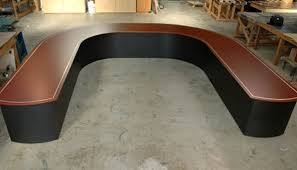 U Shaped Boardroom Table Rounded U Shaped Conference Table