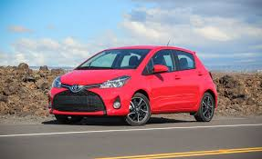 toyota slogan 2015 toyota yaris first drive u2013 review u2013 car and driver