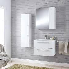 Bathroom Furniture White Cooke U0026 Lewis Paolo Gloss White Furniture Pack Departments Diy