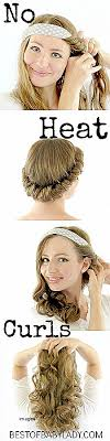 headband waves curly hairstyles beautiful curly hairstyles with headbands curly