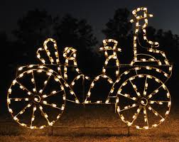 Lighted Santa And Reindeer Outdoor by Animated Outdoor Christmas Reindeer Stylish Outdoor Christmas