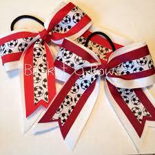 cool hair bows the 25 best soccer hair bows ideas on ribbon hair