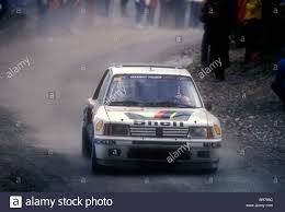 peugeot cars 1985 timo salonen in his peugeot 205 t 16 rally car on 1985 monte carlo