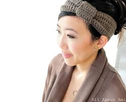 crochet headband knotted headband all about ami