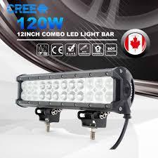Led Light Bar Driving Lights by 12inch 120w 12000lm Cree Led Work Light Bar Spot Flood Combo Truck