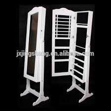 mirror and jewelry cabinet floor mirror jewelry armoire standing mirror jewelry box rotating