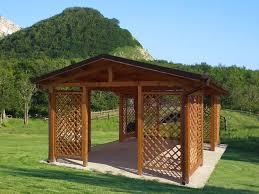 gazebo da giardino in legno prezzi pergolati su misura