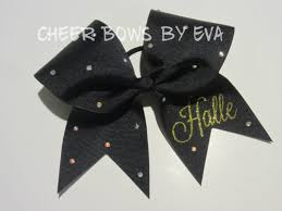 personalized bows personalized cheer bows