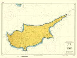 Map Of Cyprus Ministry Of Foreign Affairs Territorial Sea