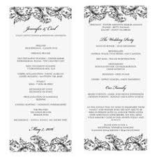 make wedding programs casual rustic wedding programs this would be easy to make